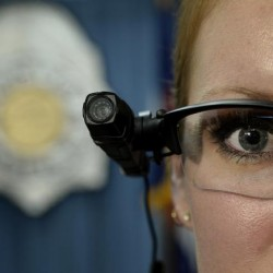 """DENVER, CO. - AUGUST 27: Denver police commander Magen Dodge displays a """"body cameras"""" following a press conference at the Denver Police Department in Denver, CO August 27, 2014. Denver Police said Wednesday they hope to equip 800 police officers, including all patrol and traffic officers, with body cameras by 2015. The cameras will not only protect people who make legitimate complaints, authorities say, the technology should also protect police from false allegations of excessive force. """"The body camera will clear up those moments of conflict,"""" said Denver police chief Robert White. (Photo By Craig F. Walker / The Denver Post)"""
